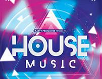 House Music - PSD Template