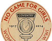 No Game For Girls - 1917 Football Match - BBC Coverage