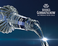 Wodka Gorbatschow 3D Model and Render