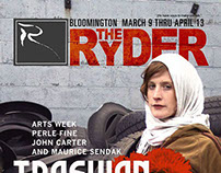 The Ryder Magazine cover designs