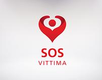 SOS Vittima - Logo Design