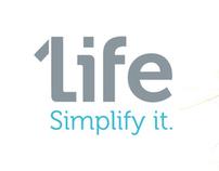 1Life. Simplify it.