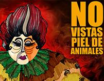 NO VISTAS PIEL DE ANIMAL