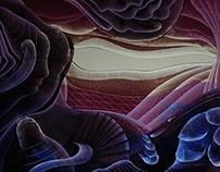 La voz despierta, Arte abstracto contemporáneo