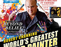 Robert Channing, America's Got Talent Postcard cover