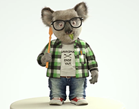 Koala (Look Development- Fur , Character)
