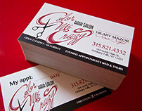 Color Me Crazy Logo & Business Cards