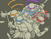 Teenage Mutant Ninja Turtles Process