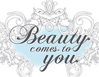 'Beauty Comes To You' Logo Designs