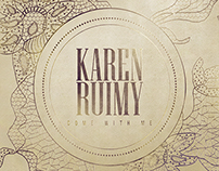 Digital album cover Karen Ruimy