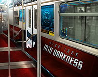 Star Trek Into Darkness Train Wrap Concepts - Paramount