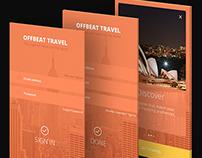 Travel App UX/UI