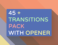 45 Transitions Pack with Opener