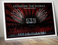 Consider the Source Poster Design
