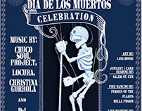 Dia De Los Muertos Concert Poster