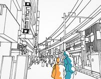 Ueno Tokyo on iPad