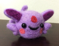 Felted Espeon