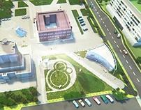 Architecture Works. Pt.3-4 Izhevsk city hall