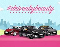 Benefit & Citroen, Driven By Beauty Interactive Website