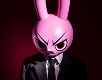 Mad Rabbit – 12″ Custom Figure