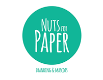 Nuts for Paper Brand & Mascots
