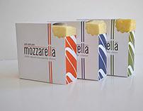 """mmm Mozzarella"" Packaging Design"