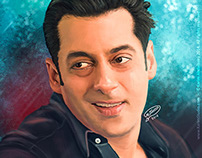 Salman Khan | Digital Painting