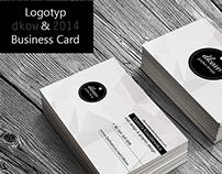 """dkow""Logotyp & Business Card"