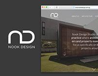 Nook Design - Architecture Web Design