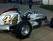 Spirit of Saylor Park 1950's Hillegas Sprint Car