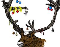Merry Xmas - Christmas Greeting Card