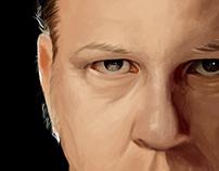 James Hetfield / Illustration / Ilustración