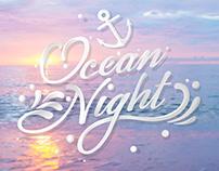 Ocean Night wedding Party
