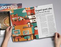 ODTÜLÜ Magazine Design