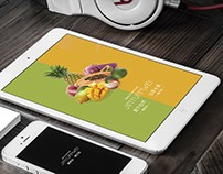 Jinyuanwei Fruit brand visual design