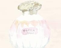 fragrance  illustration
