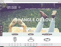 Delcigno Website for Engagement Rings Design
