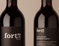 Forte - Wine Bottle Design