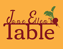 Jane Ellen's Table- Logo & Web Design