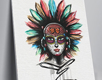 Day of the Dead / Doll paint