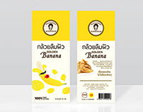 Golden Banana Series Packaging