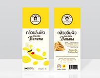 Golden Banana Series Packaging