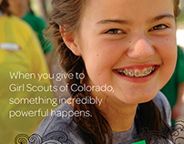 GIrl Scouts of Colorado Giving Brochure