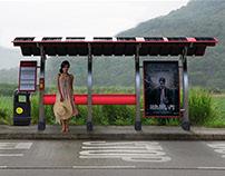 Hong Kong Bus Stop