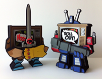 Designer Paper Toys