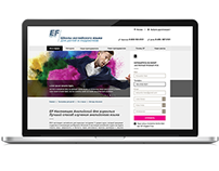 EF Russia Website