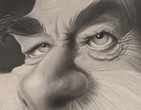 Franz Joseph Caricature