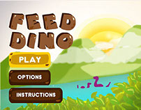 Feed Dino Game