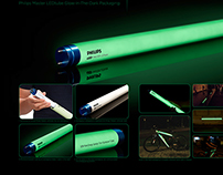 Philips - Master LEDtube Glow-in-The-Dark Packaging