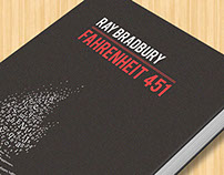 "Redesign Cover ""Fahreneheit 451"""